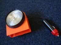 vintage car light 12v socket - uk delivery / paypal accepted