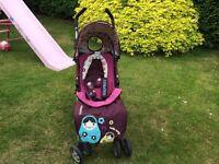 Cosatto Swift Lite Pushchair/Stroller - Hello Dolly