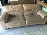 2 x sofa for sale