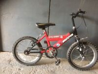 "16"" wheel kids bikes from Recon Cycles"