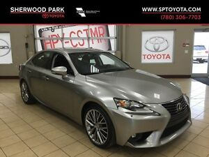 2015 Lexus IS 250 All Wheel Drive!
