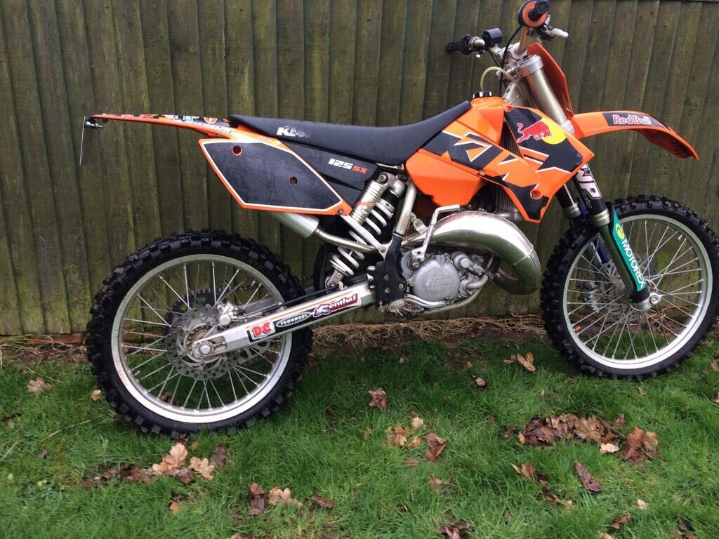 ktm sx125 2004 road registered sx mot v5 log book mx. Black Bedroom Furniture Sets. Home Design Ideas