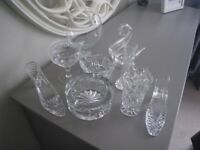 COLLECTION OF EDINBURGH and STUART CRYSTAL. SOME BEAUTIFUL PIECES IN EXCELLENT CONDITION.