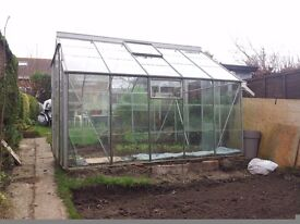 Greenhouse 8x10 Green house already taken down to be picked up.