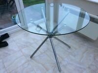 FREE Glass topped table