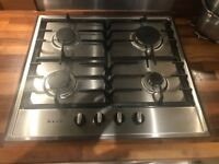 NEFF Gas Hob, Stainless Steel (Used)