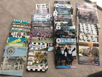 Newcastle United Match Programmes 70's 80's 90's 00's