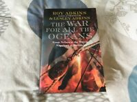 Military History Book (hardback): The War for all the Oceans by Roy and Lesley Adkins
