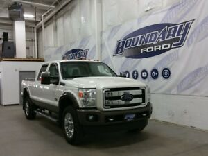 2015 Ford Super Duty F-350 SRW King Ranch W/ Diesel Engine