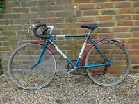 Raleigh Olympus 1970 Vintage Racing Bike/Racer RETRO FIXIE COLLECTABLE needs TLC