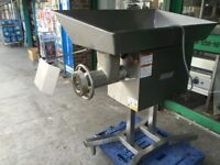CATERING COMMERCIAL KITCHEN NELLA 3 PHASE MEAT MINCER GRINDER MACHINE CAFE SHOP TAKE AWAY FAST FOOD