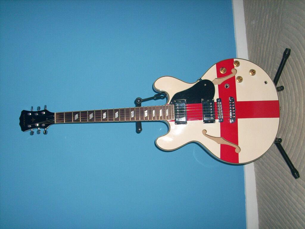 Aria TA50 St. George Semi Acoustic Guitar REDUCED