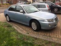 Rover 75 Connoisseur Saloon 2004 54 MK1 Facelift Blue CDTi Diesel Auto 55000 miles MOT Aug 17 FSH
