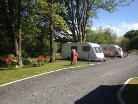Seasonal Touring Pitch available in South Arshire near the Galloway Forest