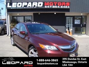 2014 Acura ILX Leather,Sunroof,Shifting Paddles*Low Km*