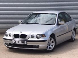 2001 BMW 318 TI COMPACT, AUTOMATIC, 2.0 ENGINE, BRAND NEW MOT.