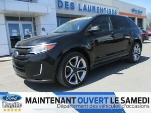 2013 Ford Edge SPORT CUIR TOIT NAV *1.9% DISPONIBLE