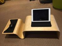 Ipad tablet laptop lap tray with mouse holder and mat