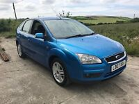 FORD FOCUS GHIA 1.6 5DR BLUE 2007