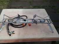 Folding Double Burner Camping Gaz Stove
