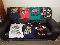Girls T-Shirts Size 10