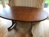 G-Plan extendable dining table