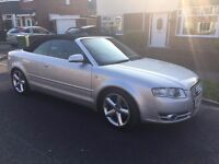 2007 Audi A4 S-Line 2.0 Tdi Convertible, Low Mileage, Full History,