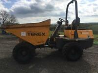 Terex PT3000 Dumper 2008 Only 1500hrs