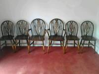 6 vintage chairs
