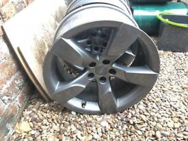 """genuine BBS RD383 19"""" Audi alloys no tyres"""
