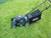 webb self propelled lawnmower