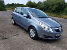 2007 vauxhall corsa diesel 1.3 cdti only £30 road tax economical family car ready to drive away