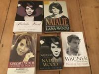 Selection of Natalie Wood / Robert Wagner books