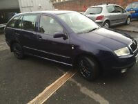 SKODA FABIA 2002 DIESEL FULL YEAR MOT EXCELLENT CONDITION