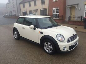 MINI 1.6 COOPER DIESEL 3dr 2011! LONG MOT! FULL SERVICE HISTORY! EXCELLENT CONDITION!!!