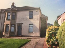 2bed spacious unfurnished flat in Greenock Rd, Paisley. £500 pcm