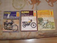 old haynes motorcycle workshop manuals honda kawasaki suzuki