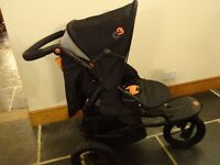 Mamas & Papas 03 Sport buggy & 1st stage Car seat which attaches to the buggy
