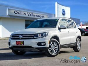 2013 Volkswagen Tiguan HEATED SEATS, BLUETOOTH, PANORAMIC SUNROO