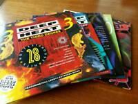 5x double Deep Heat albums