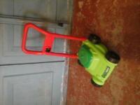 Push-along baby/toddler lawnmower
