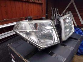 Nissan navara d40 headlight