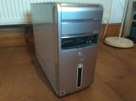 Dell Inspiron 530 computer with a 250GB hard drive and Windows 7 Professional installed