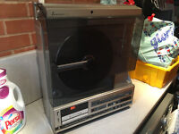Retro Mitsubishi Vinyl Player/ Tape Deck