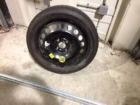 Space saver wheel / tyre - 16 inch Vauxhall fitment