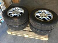 Land Rover Discovery 3 alloys & winter tyres