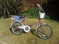 Ladies Foldaway Bicyle