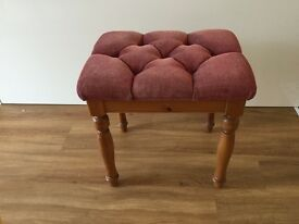 Padded Bed Room Stool