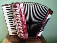 Accordion Hohner Concerto II S 72 bass buttons