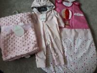 Baby girl 3 piece bundle all bnwt